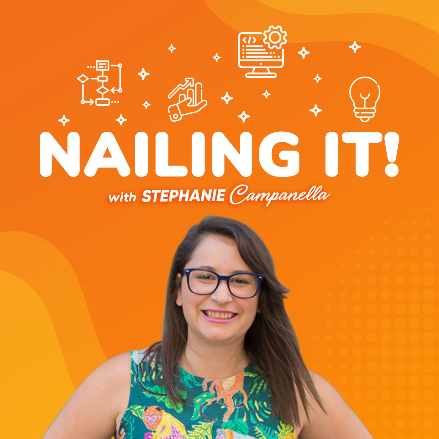 Nailing It, with Stephanie Campanella show art
