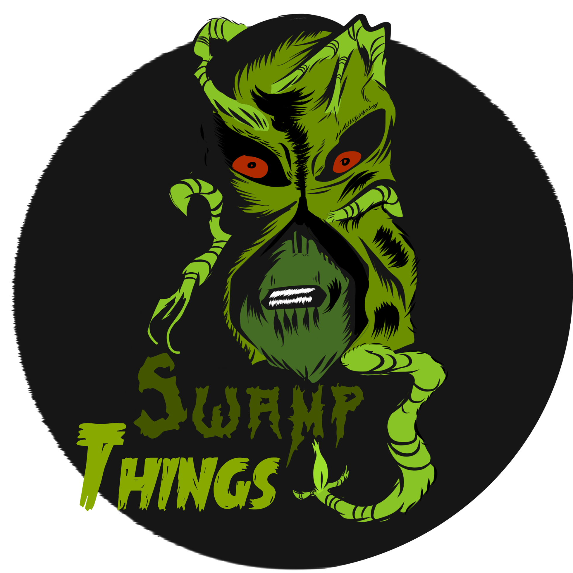 Swamp Things Podcast show art