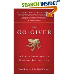 "You can do good and do well:  Lessons from ""The Go-Giver"""