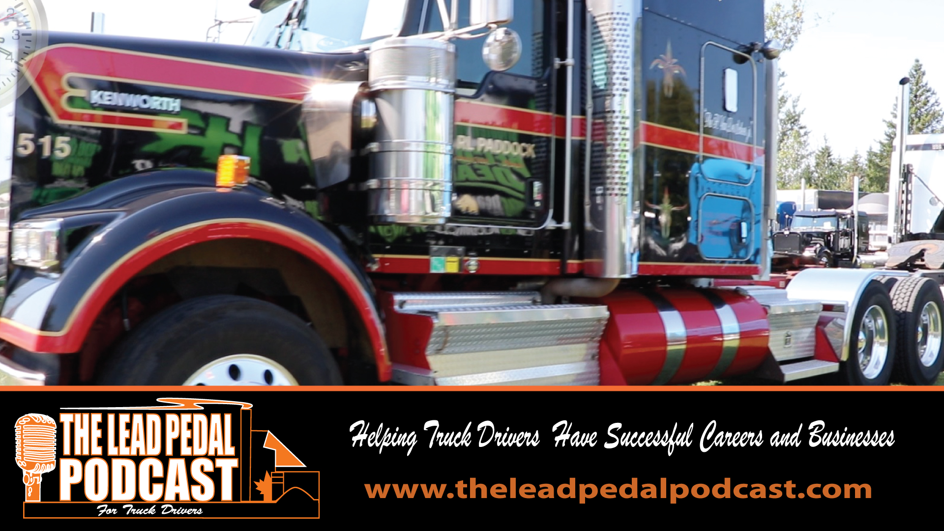 LP633 Featured Truck of the Week - Earl Paddock Kenworth