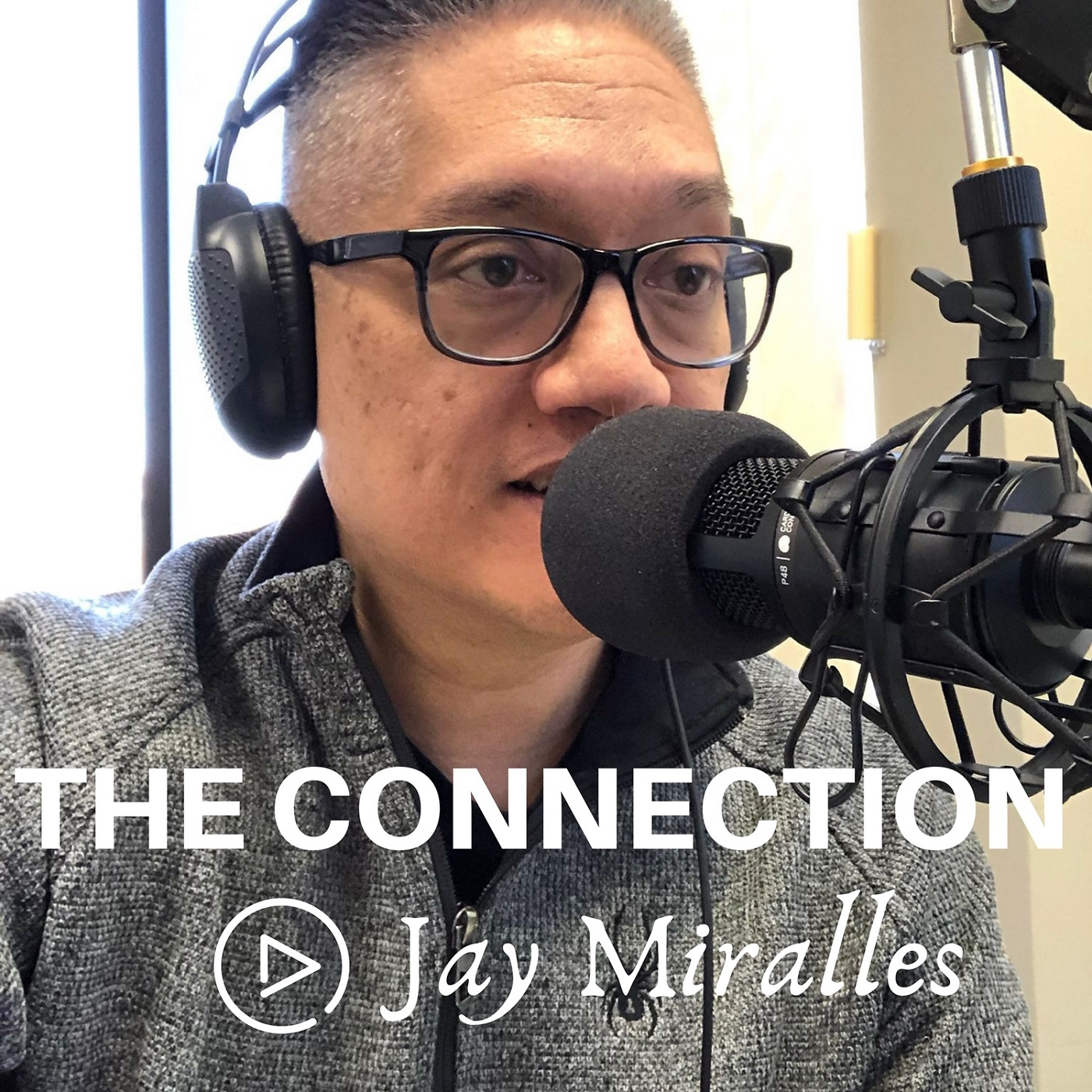 The Connection with Jay Miralles show art