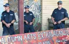 Police Crackdown on Pot Festival  - Nimbin Mardi-Grass