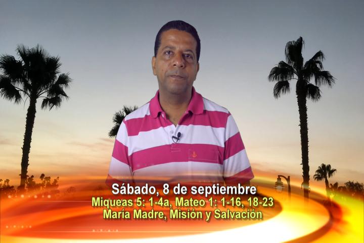 Artwork for Dios te Habla con Oscar Arlés Soto Varona;  Tema el hoy: María Madre, Misión y Salvación