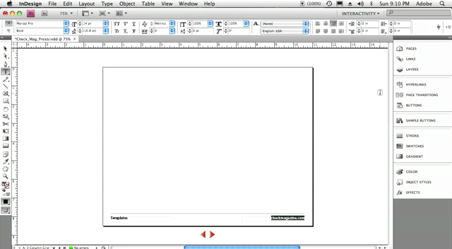 Create interactive Flash (SWF) files from InDesign CS4
