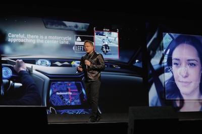 Nvidia apuesta a la inteligencia artificial en la feria de tecnología CES 2017