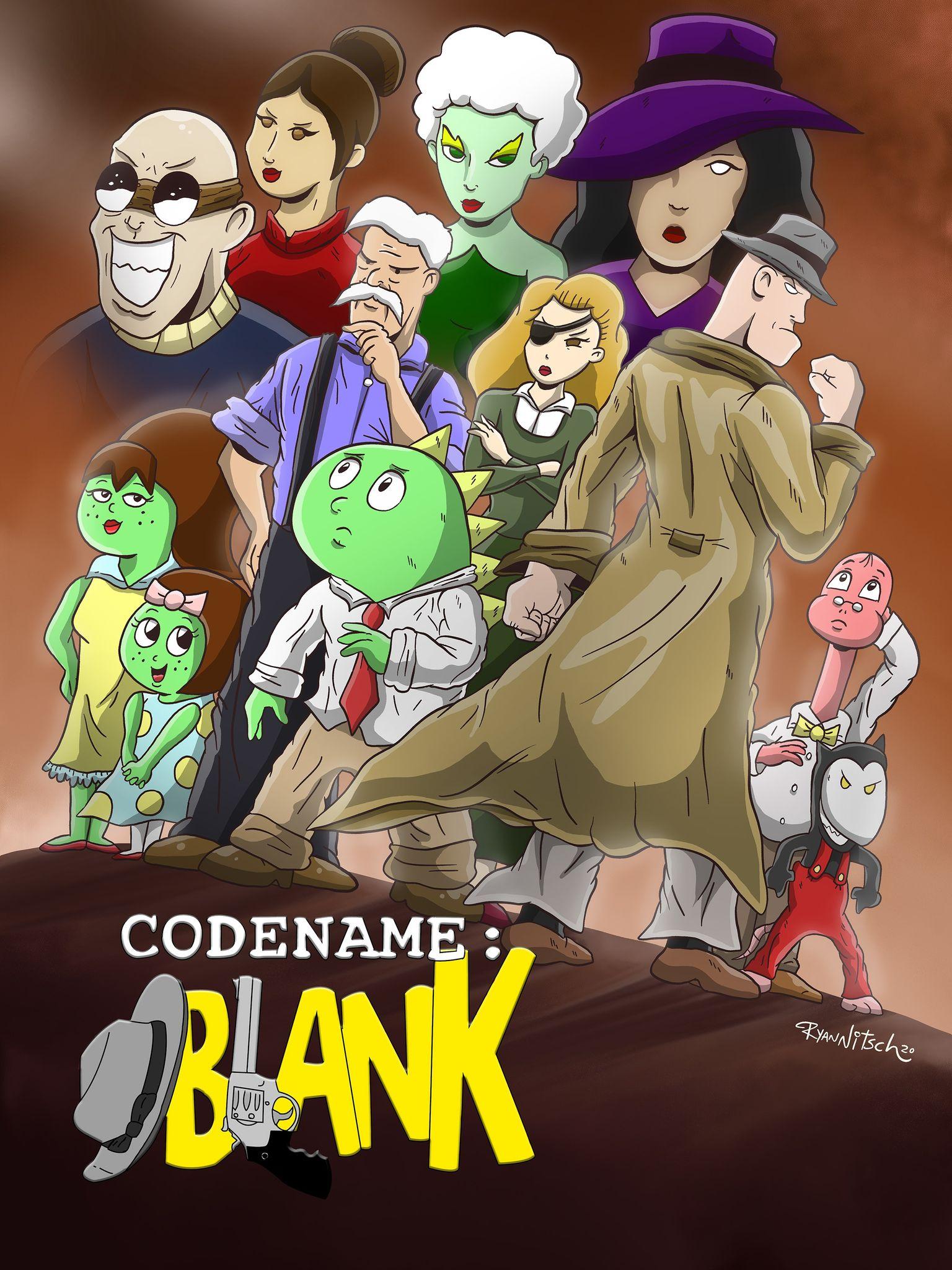 Codename: Blank show art