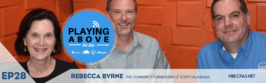 Playing Above the Line | Rebecca Byrne | Community Foundation