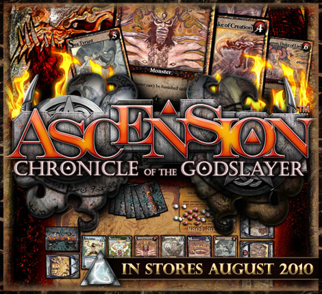 Ascension: Chronicle of the Godslayer with Justin Gary at Gen Con 2010
