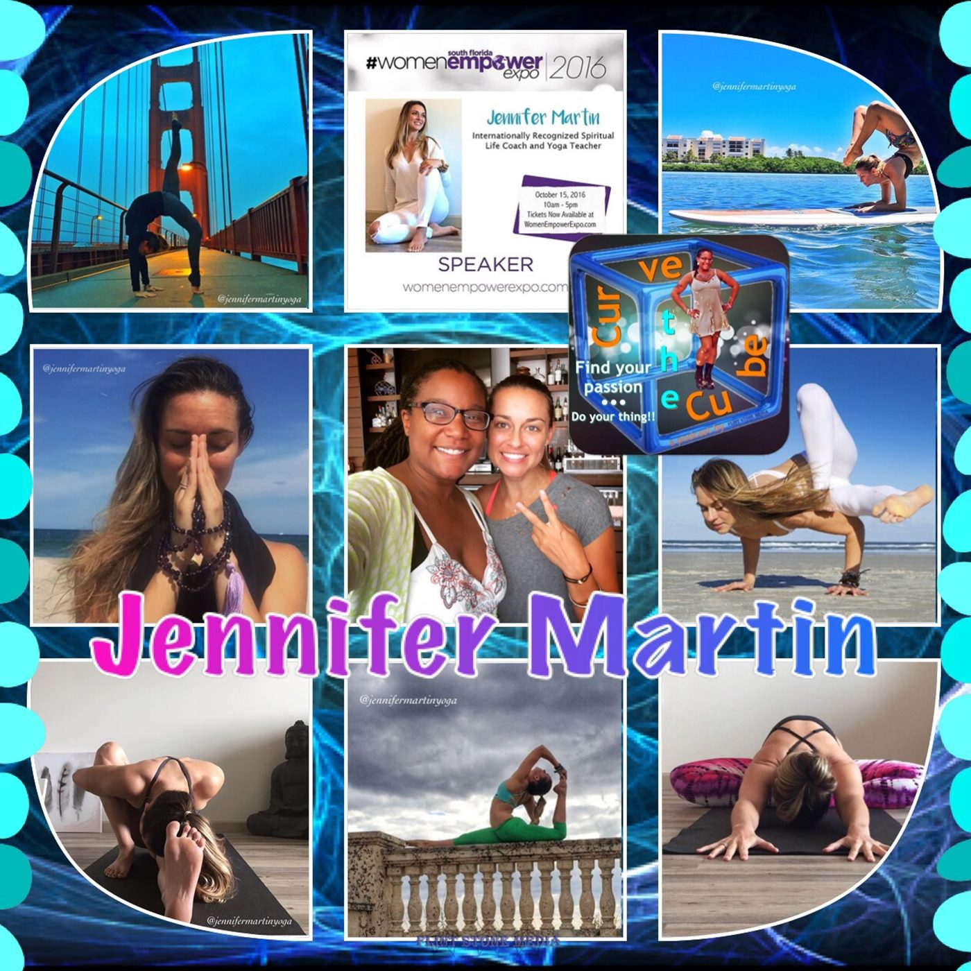 #94 – SPIRITUAL LIFE COACH AND YOGA TEACHER – Jennifer Martin - 2016-09-10