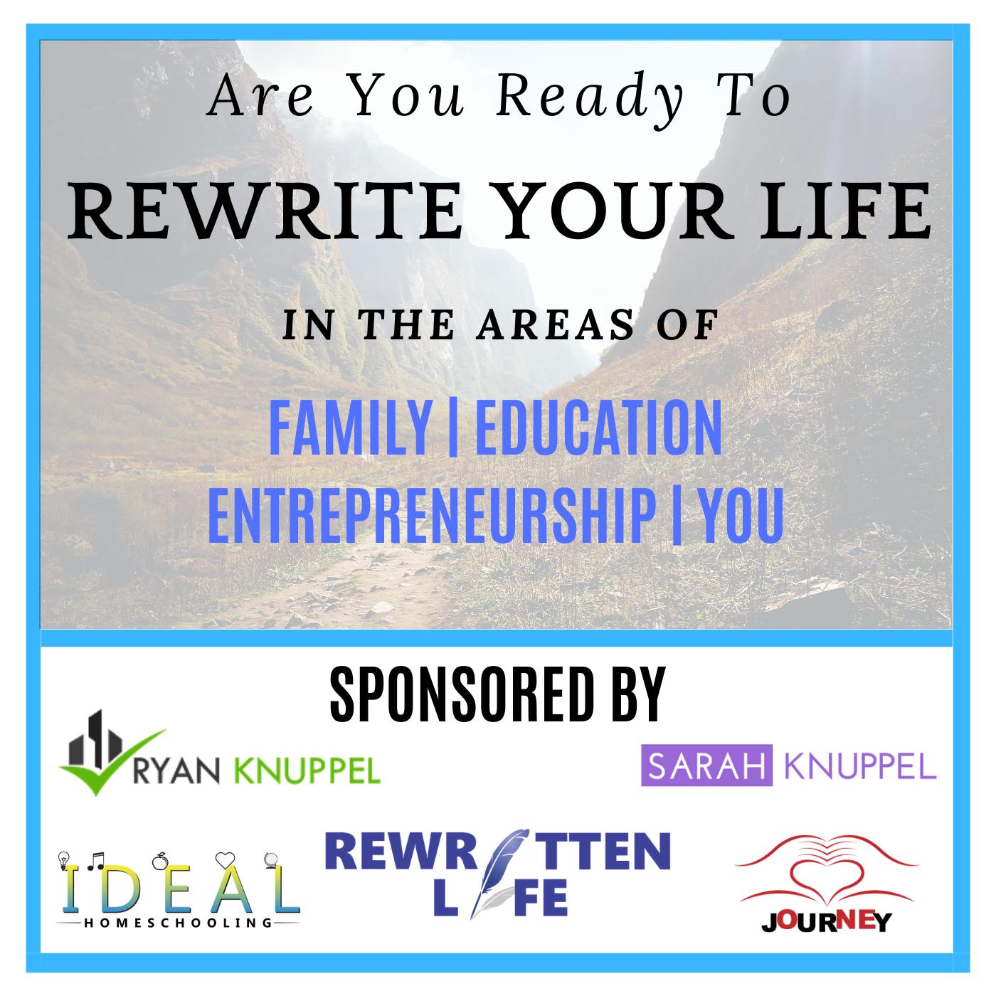 Rewrite Your Life show art