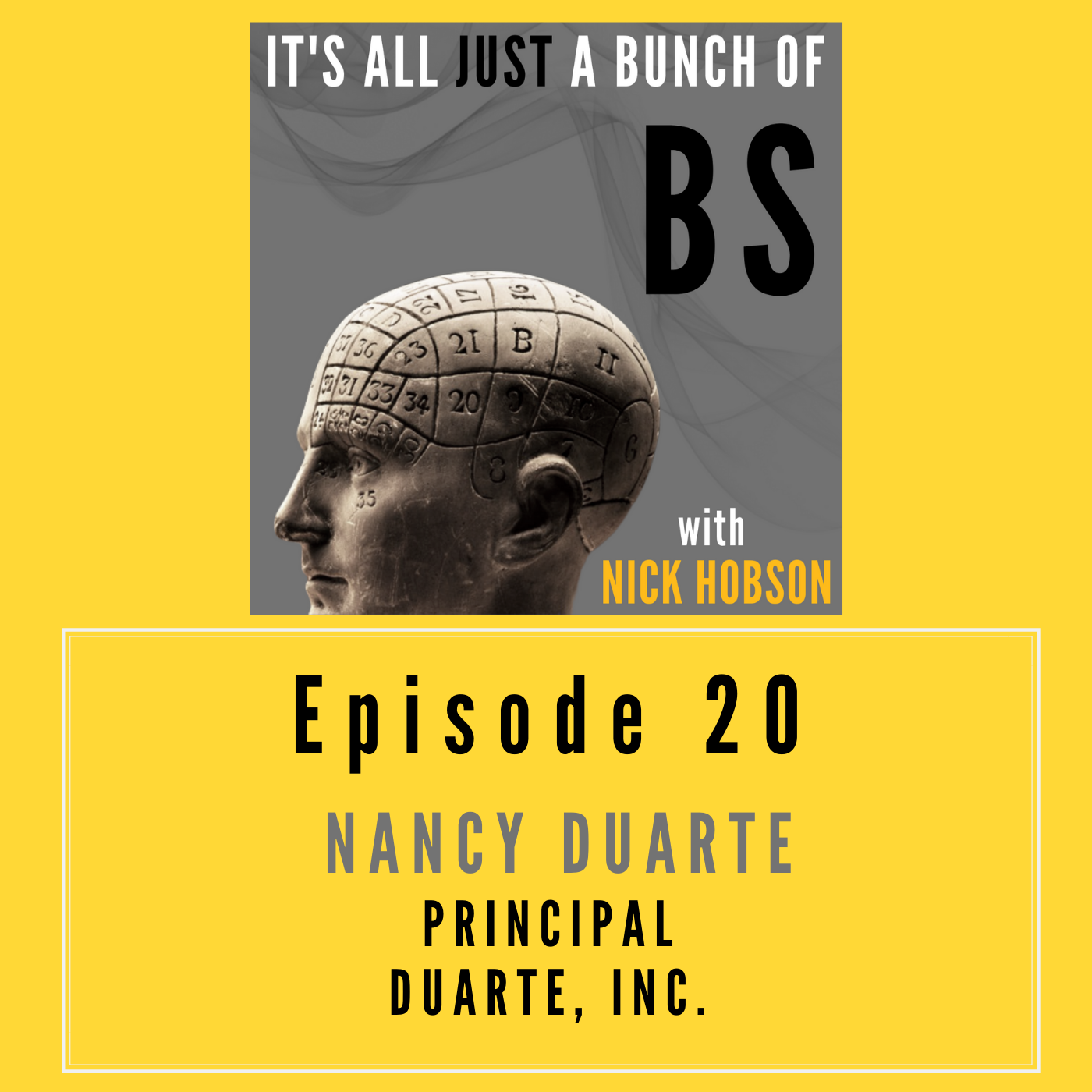 Episode 20 with NANCY DUARTE: Behind Every Behavior There's a Story to Tell