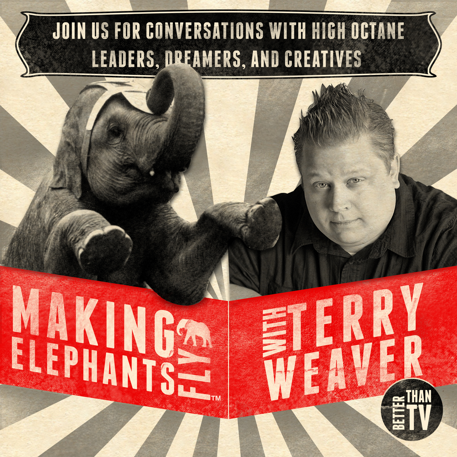 Making Elephants Fly | Conversations with High Octane Leaders, Dreamers, & Creatives  show art