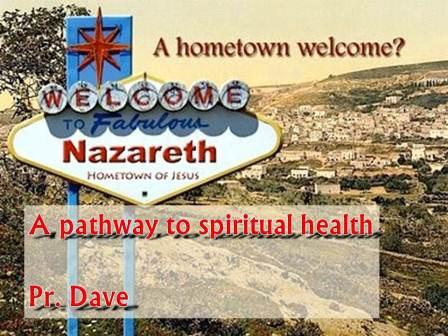 A Pathway to Spiritual Health