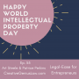 Artwork for Ep. 55 - Happy World Intellectual Property Day (from Creative Law Genius)