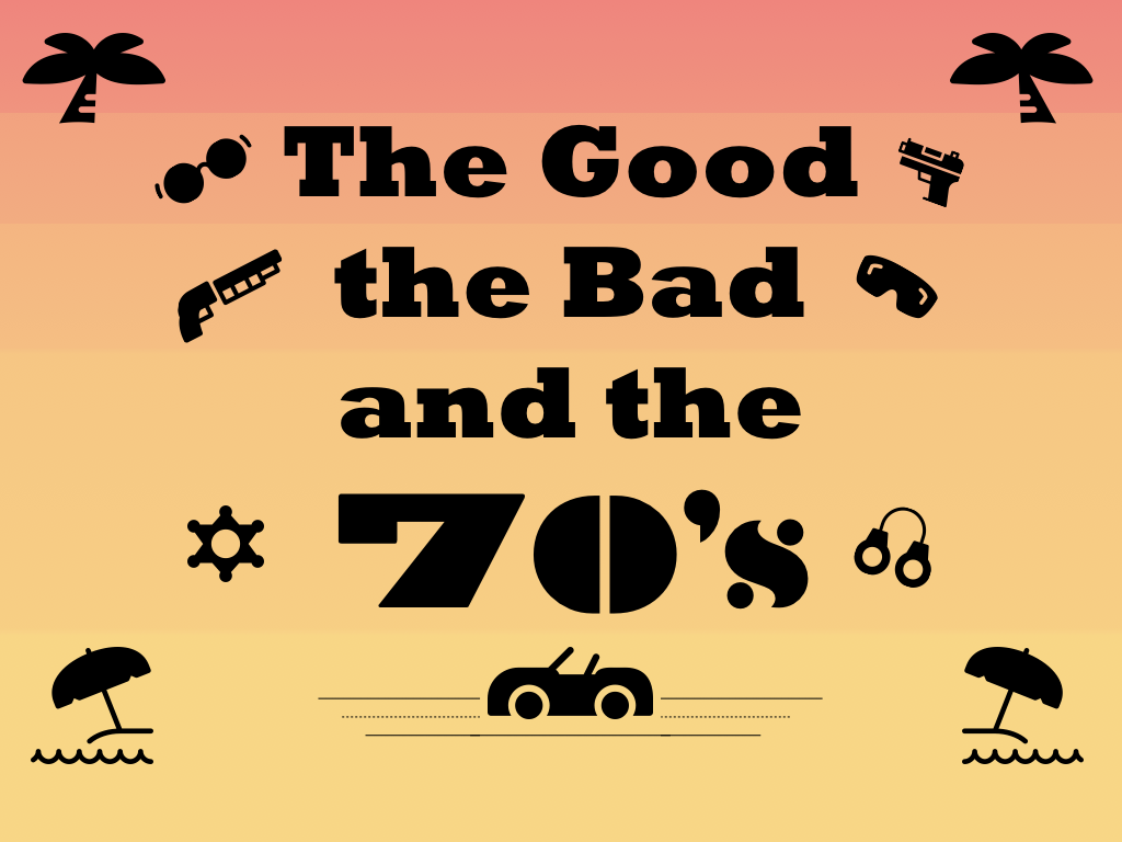Card for Good Bad 70s