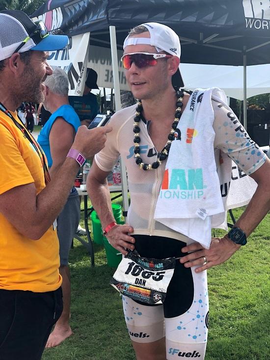 Dan Plews post race