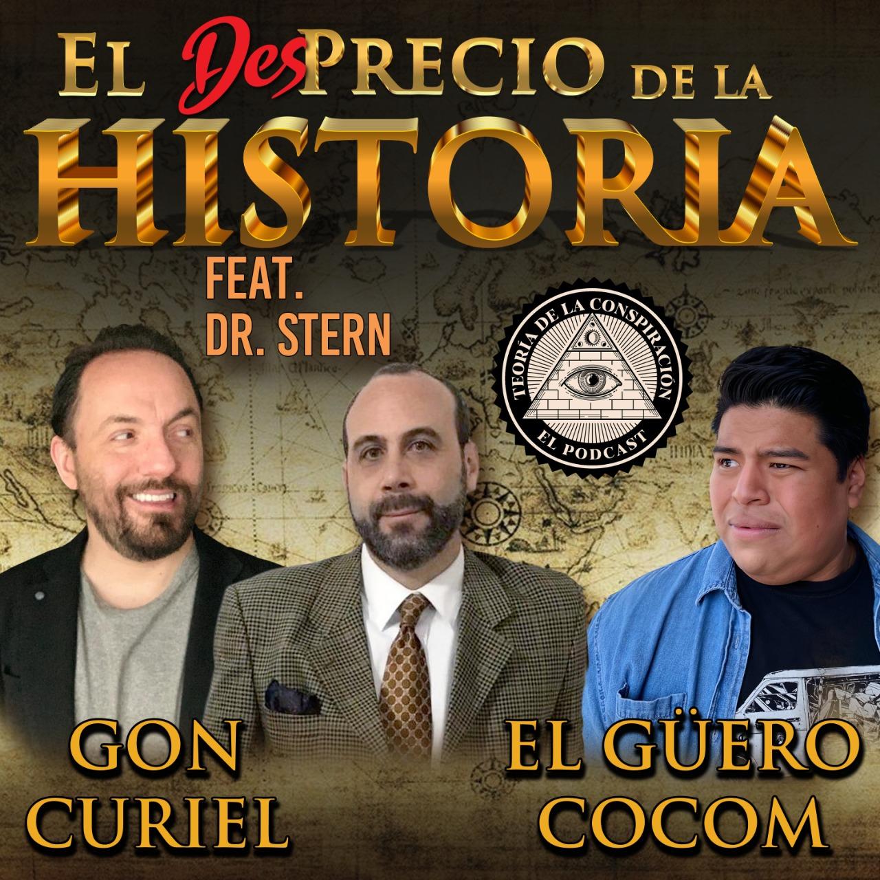 32 - Teorías de la Conspiración y cómo explicarlas ft. Dr. Stern