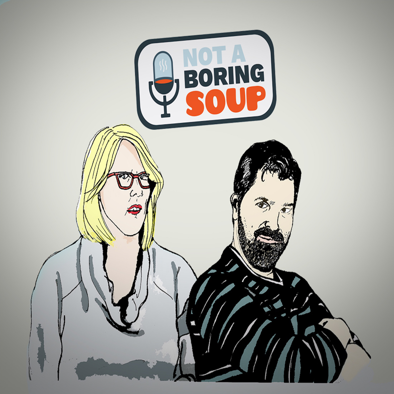 Not A Boring Soup | TV & Movies show art