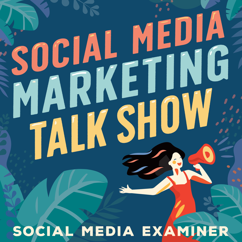 Social Media Marketing Talk Show show art