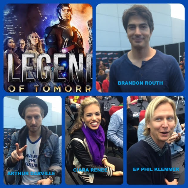 Episode 647 - NYCC: Legends of Tomorrow w/ Brandon Routh/Arthur Darville/Ciara Renee/EP Phil Klemmer