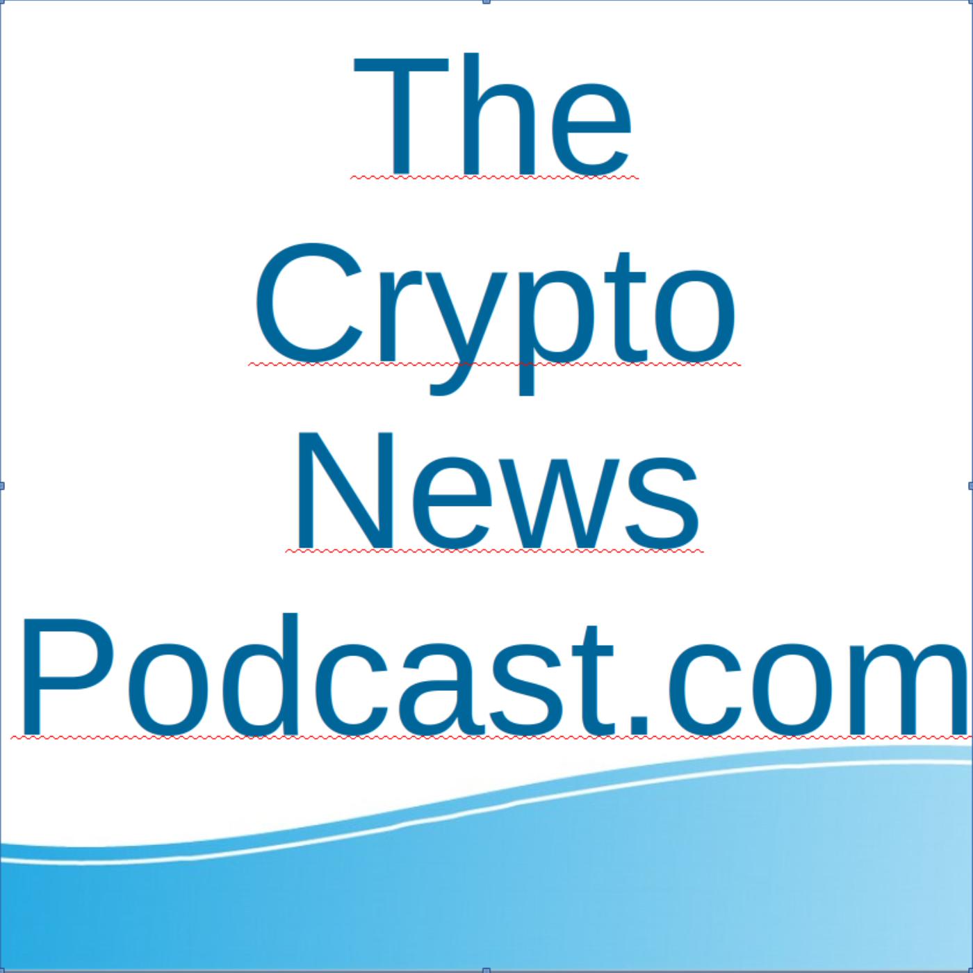The Crypto News Podcast show art