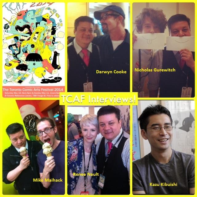 Episode 536 - TCAF w/ Darwyn Cooke/Nicholas Gurewitch/Kazu Kibuishi/Mike Maihack/Renee Nault