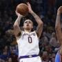Artwork for Lakers Dominate Spurs As Kyle Kuzma, LeBron James Go Off