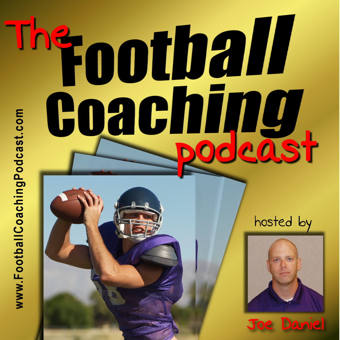 The Football Coaching Podcast with Joe Daniel show art