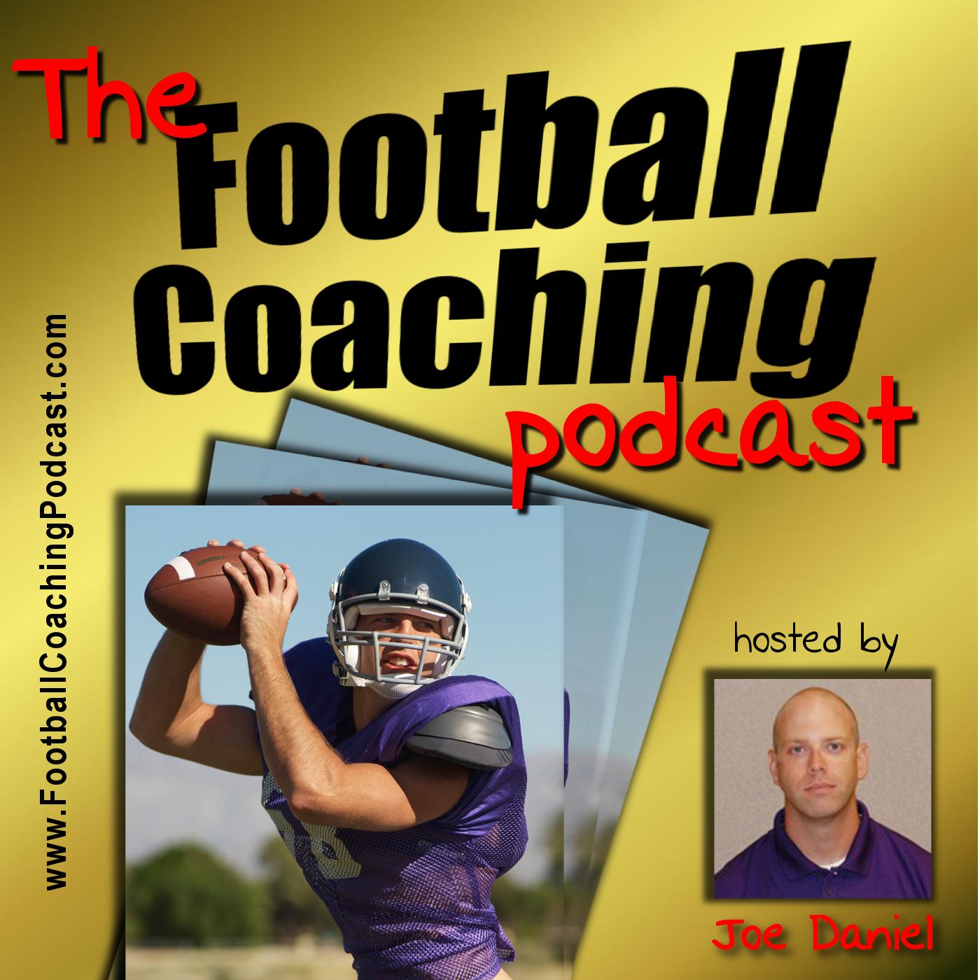 The Football Coaching Podcast with Joe Daniel show art