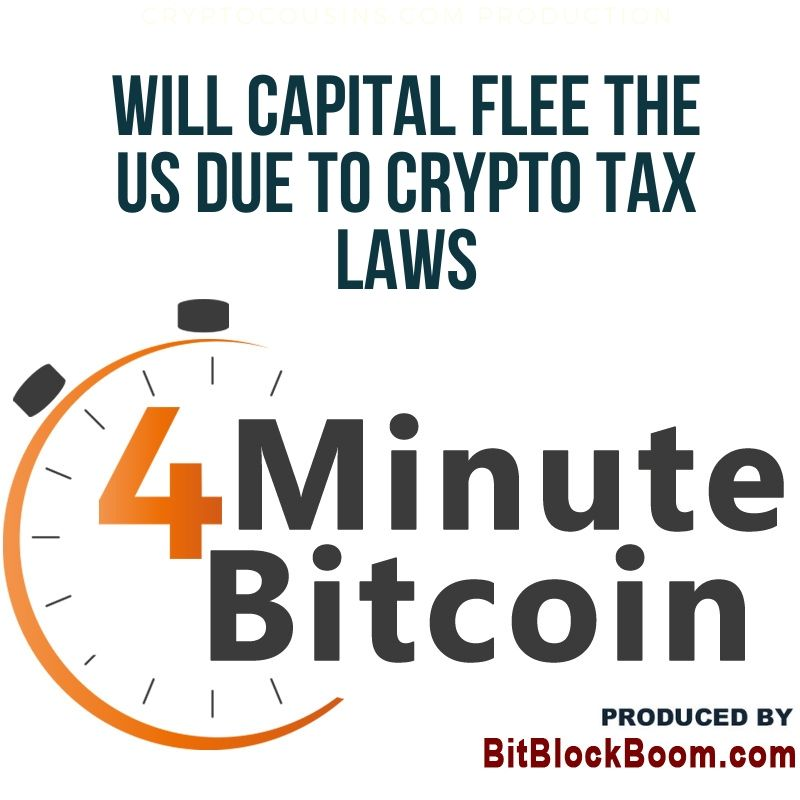 Will Capital Flee The US Due to Crypto Tax Laws