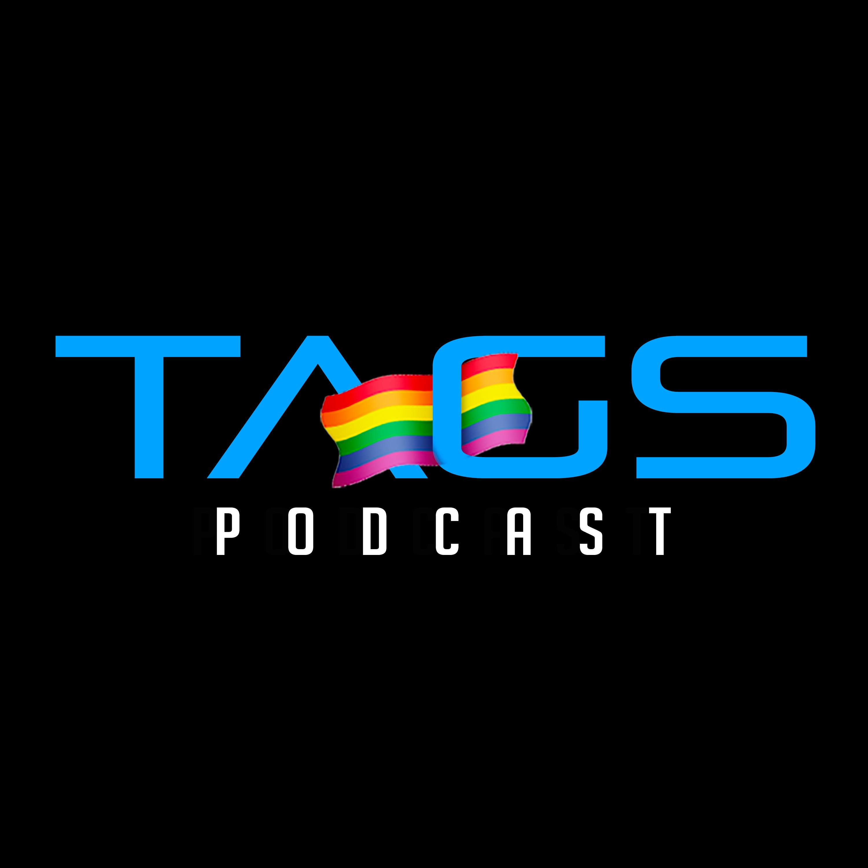 TAGSPODCAST aka Talk About Gay Sex podcast show art