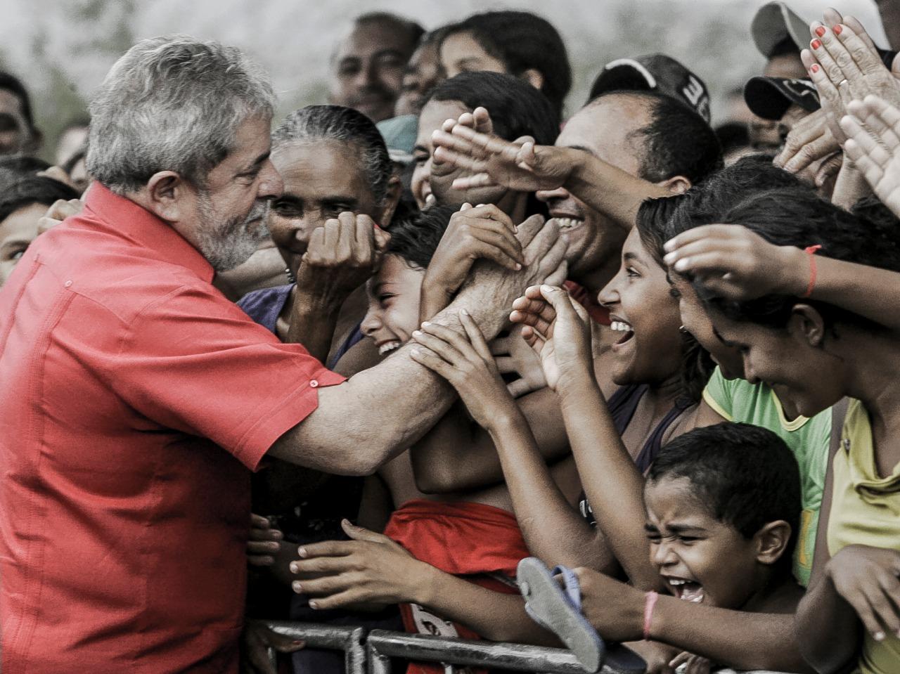 Foto do ex-presidente Luiz Inácio Lula da Silva feita por Jarbas Oliveira e doada para leilão dos Fotógrafos pela Democracia