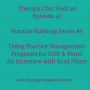 Artwork for 43: Why Therapists Need Practice Management Systems