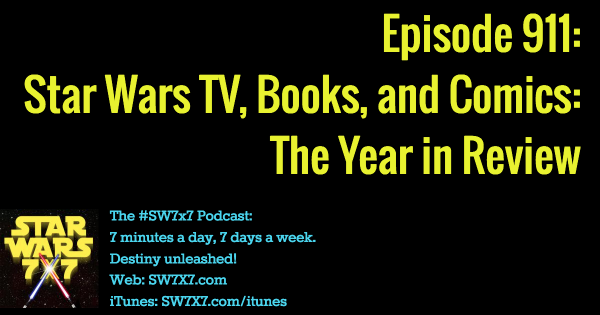 911: Star Wars Books, TV, and More: The Year in Review
