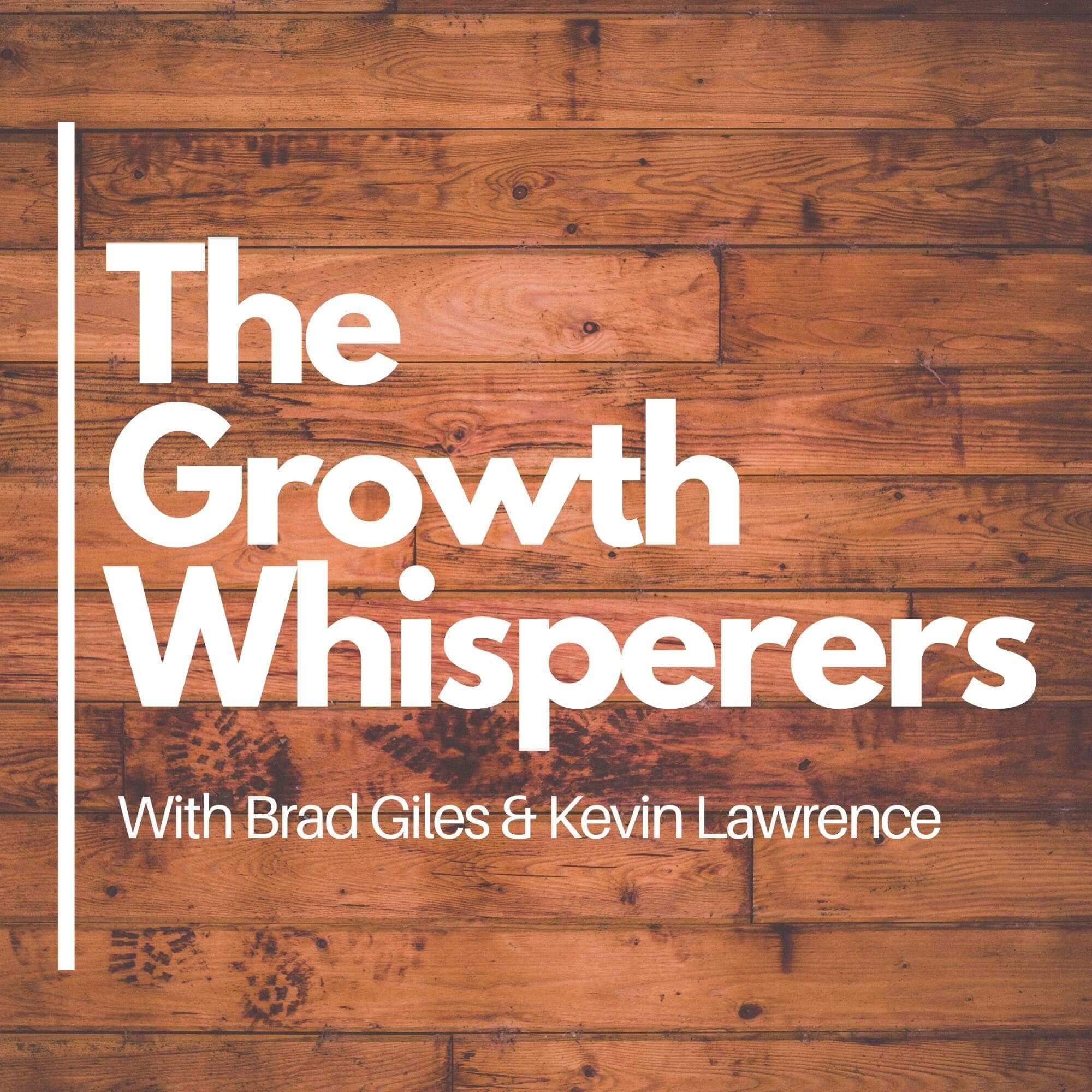 The Growth Whisperers podcast show art