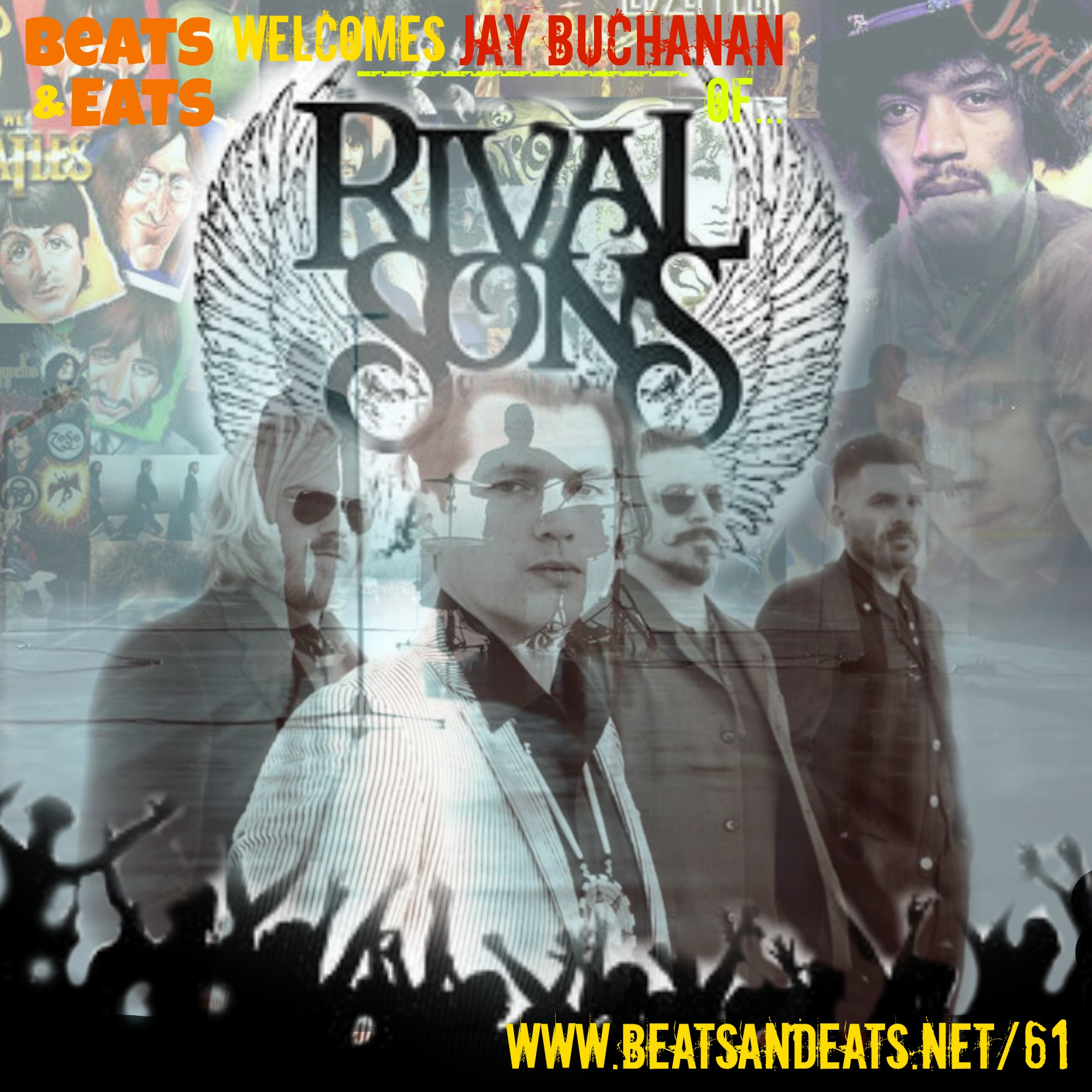 B&E #61 Rival Sons Interview | Rock & Roll | American Idol | Jay Buchanan