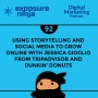 Artwork for #92: Using Storytelling and Social Media to Grow Online with Jessica Gioglio from Tripadvisor and Dunkin' Donuts