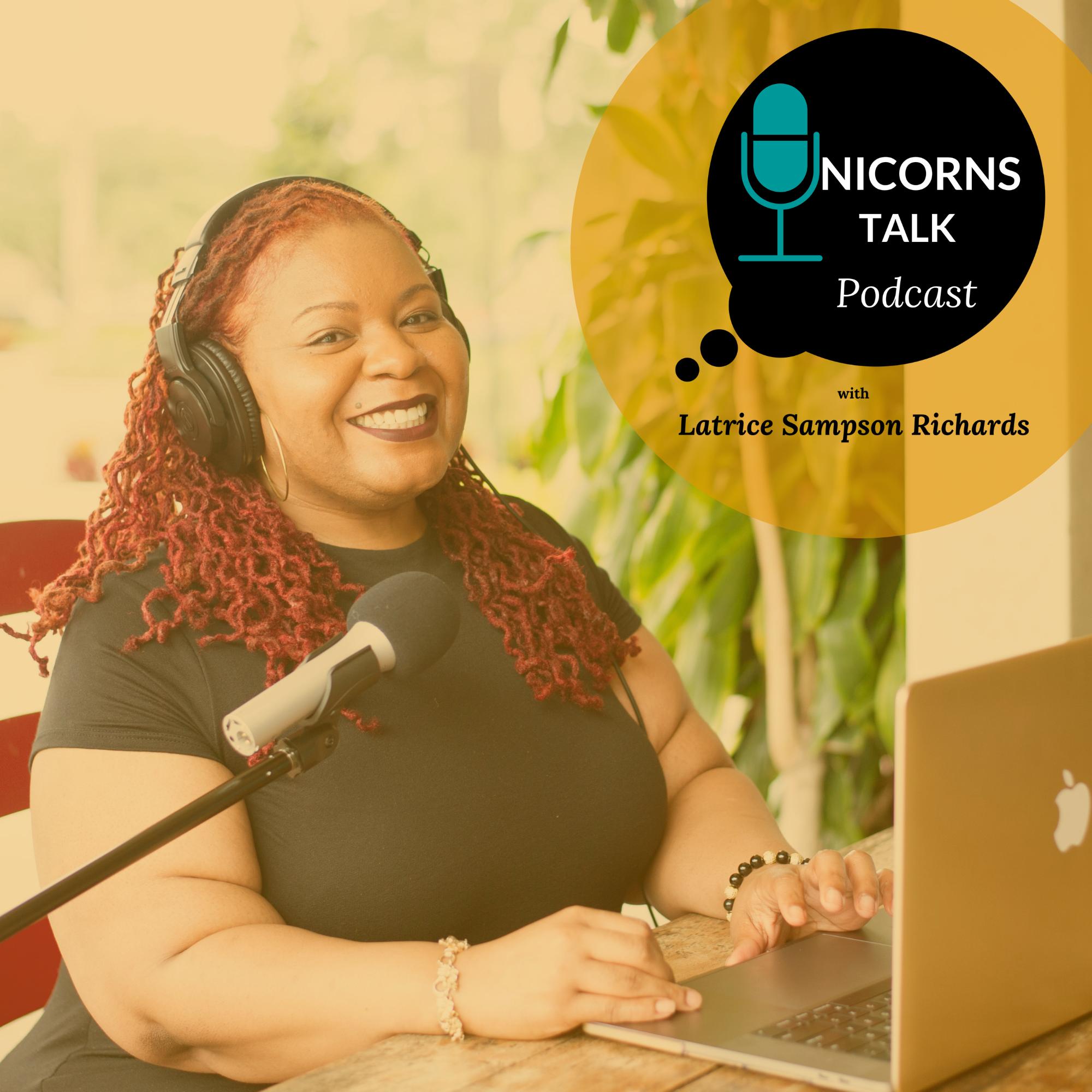 Unicorns Talk Podcast show art