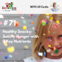 Artwork for TNC 071: Healthy Snacks: Satisfy Hunger with 3 Key Nutrients