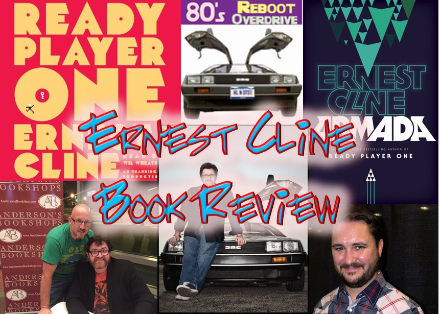 Ernest Cline Book Reviews - 80's Reboot Overdrive