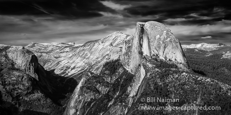 IR Half Dome from Glacier Point by Bill Naiman