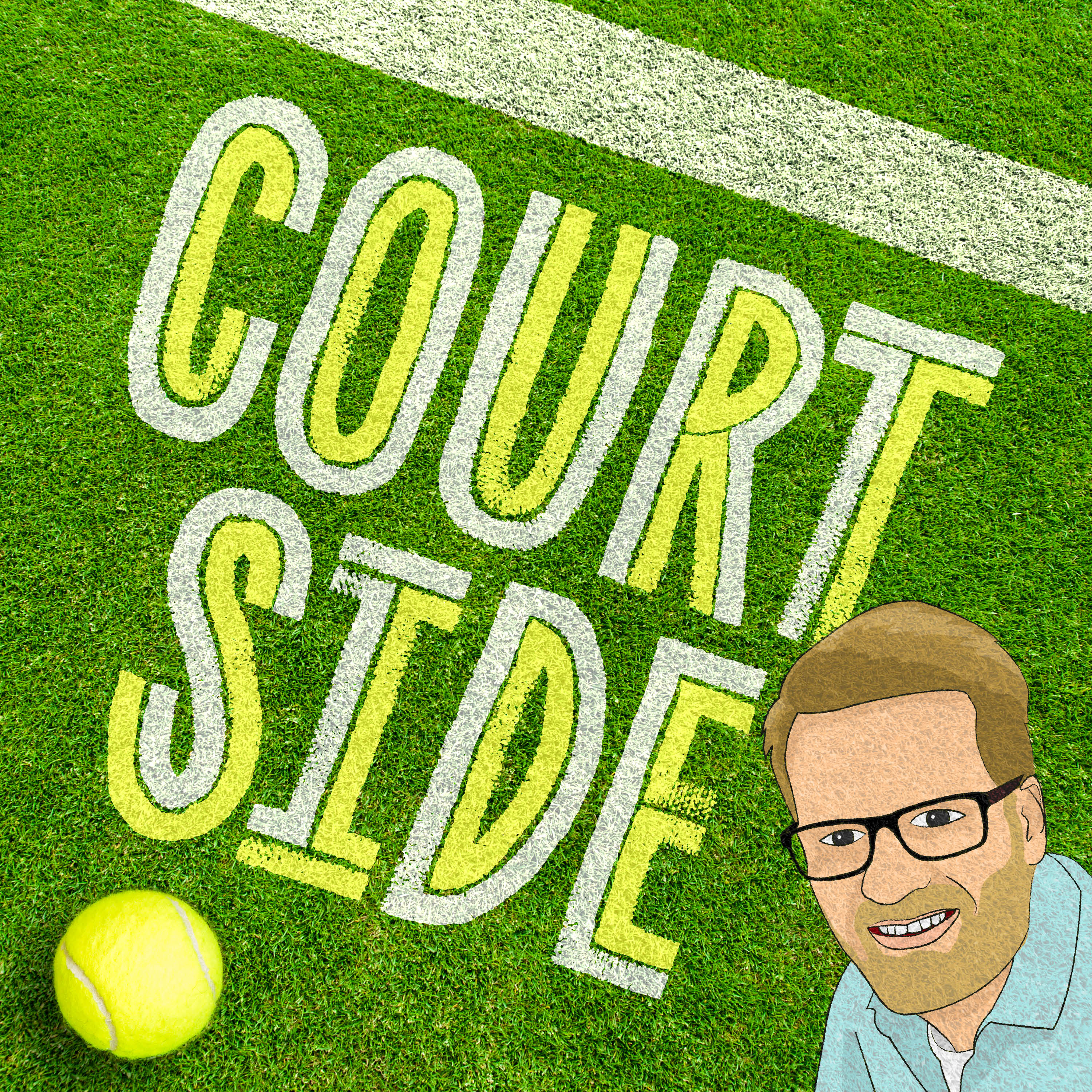 Courtside Podcast show art