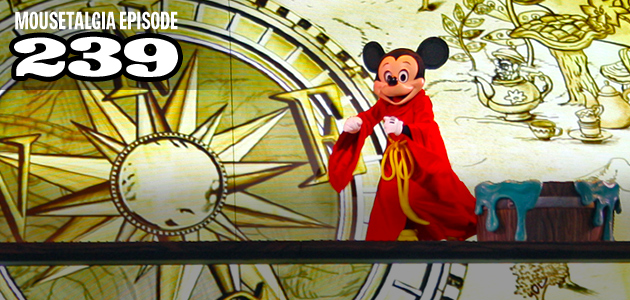 Mousetalgia Episode 239: Mickey's Magical Map, Monstrous All-Nighter