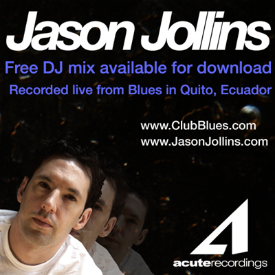 Jason Jollins - Live from Club Blues, recorded in Quito Ecuador on January 23rd of 2010