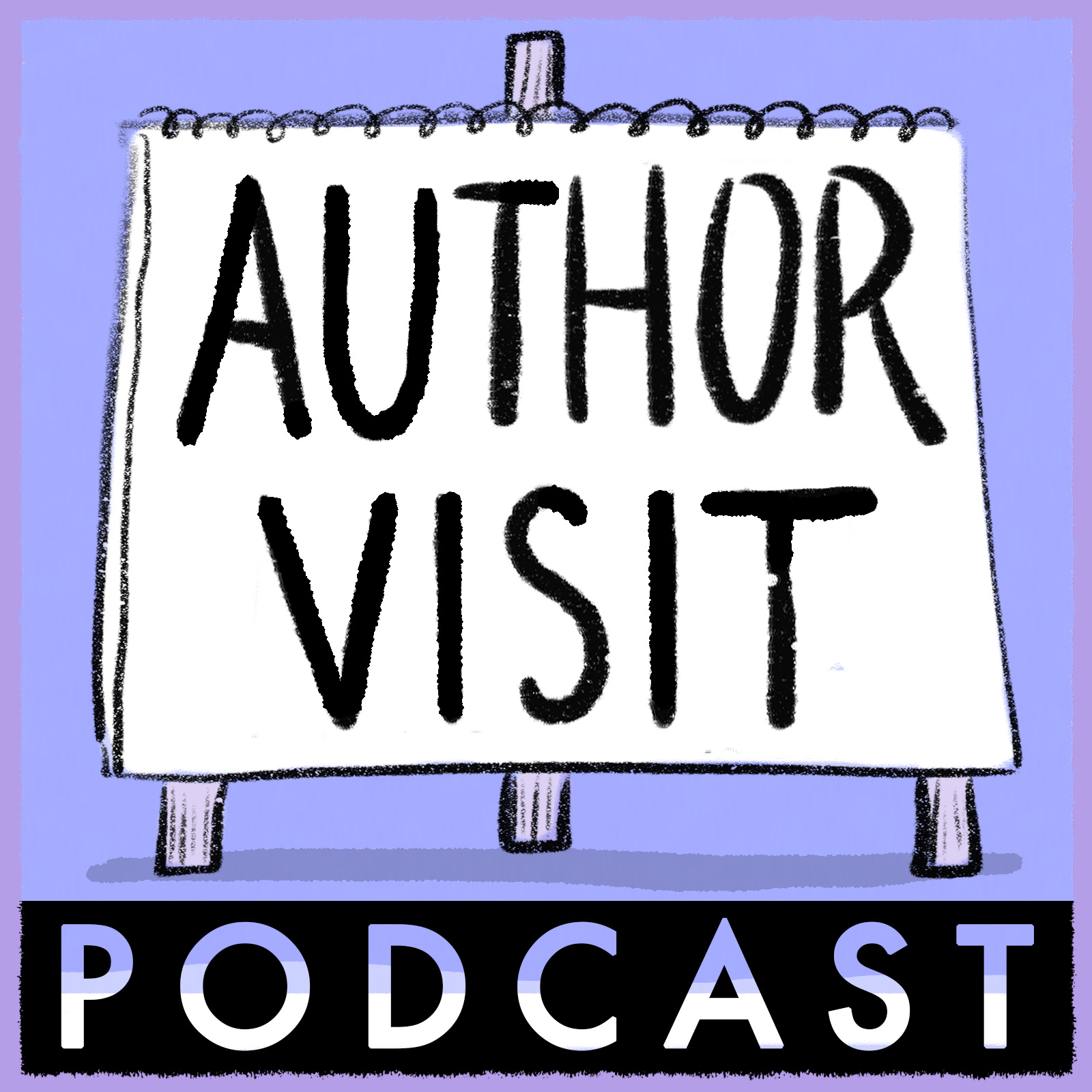 Artwork for 1. It's the Author Visit Podcast!