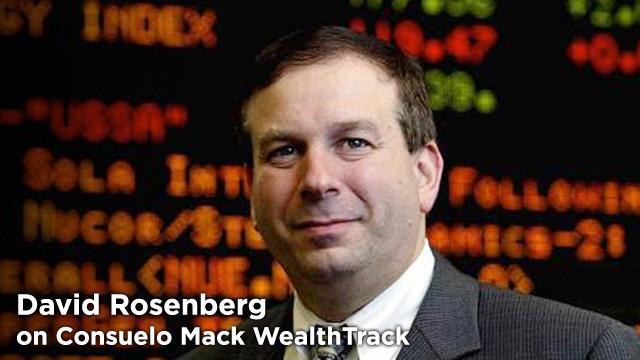 David Rosenberg Gluskin Sheff + Associates Inc