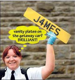 #64 Vanity Plate Bandits