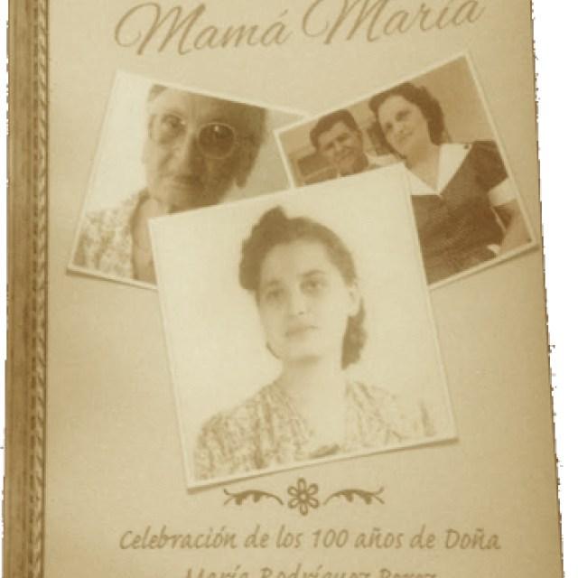 Libro Historia de Maria Rodríguez P´rez