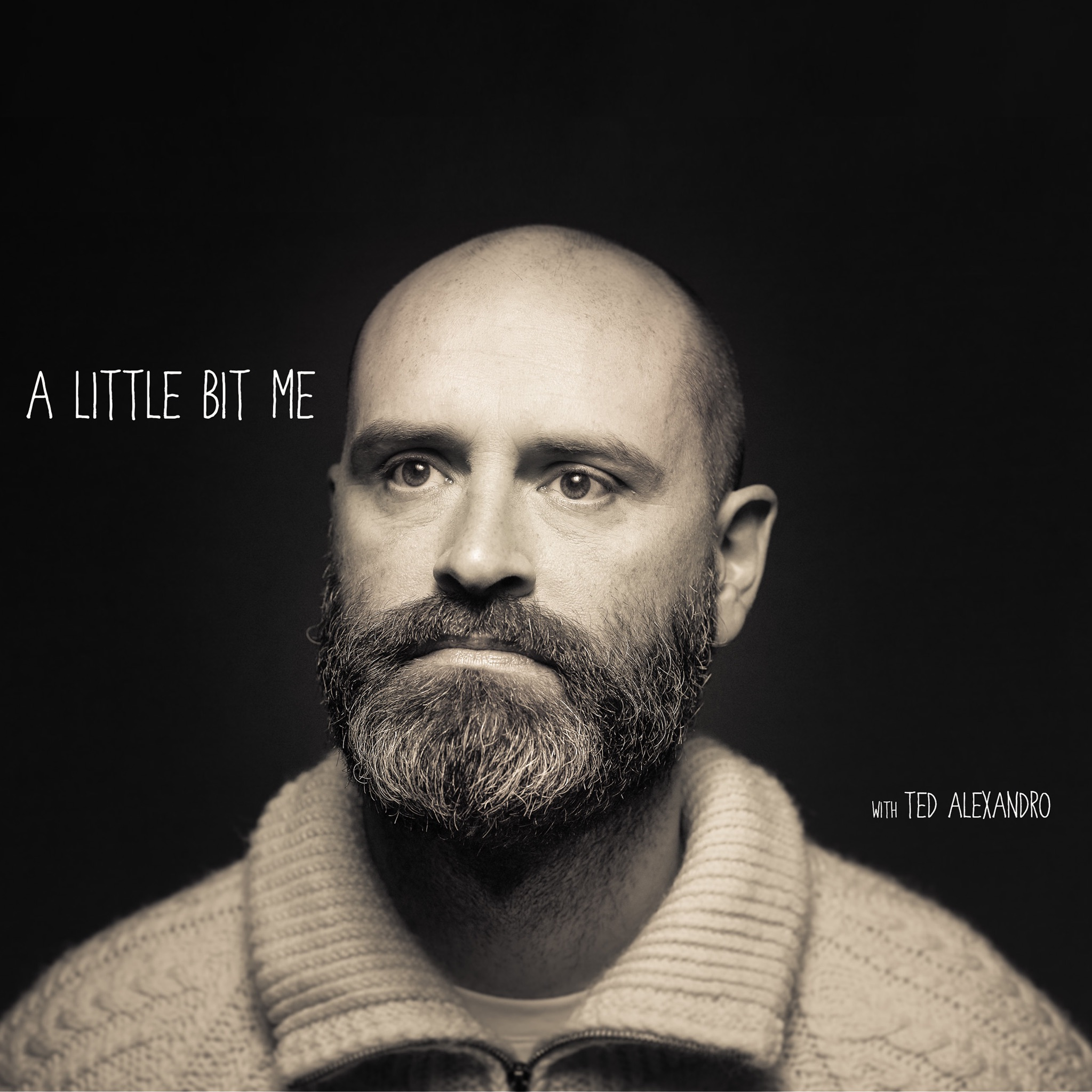 Artwork for A Little Bit Me with Ted Alexandro Episode 001 Christmas Special with Jim Gaffigan, Tig Notaro and Gary Gulman