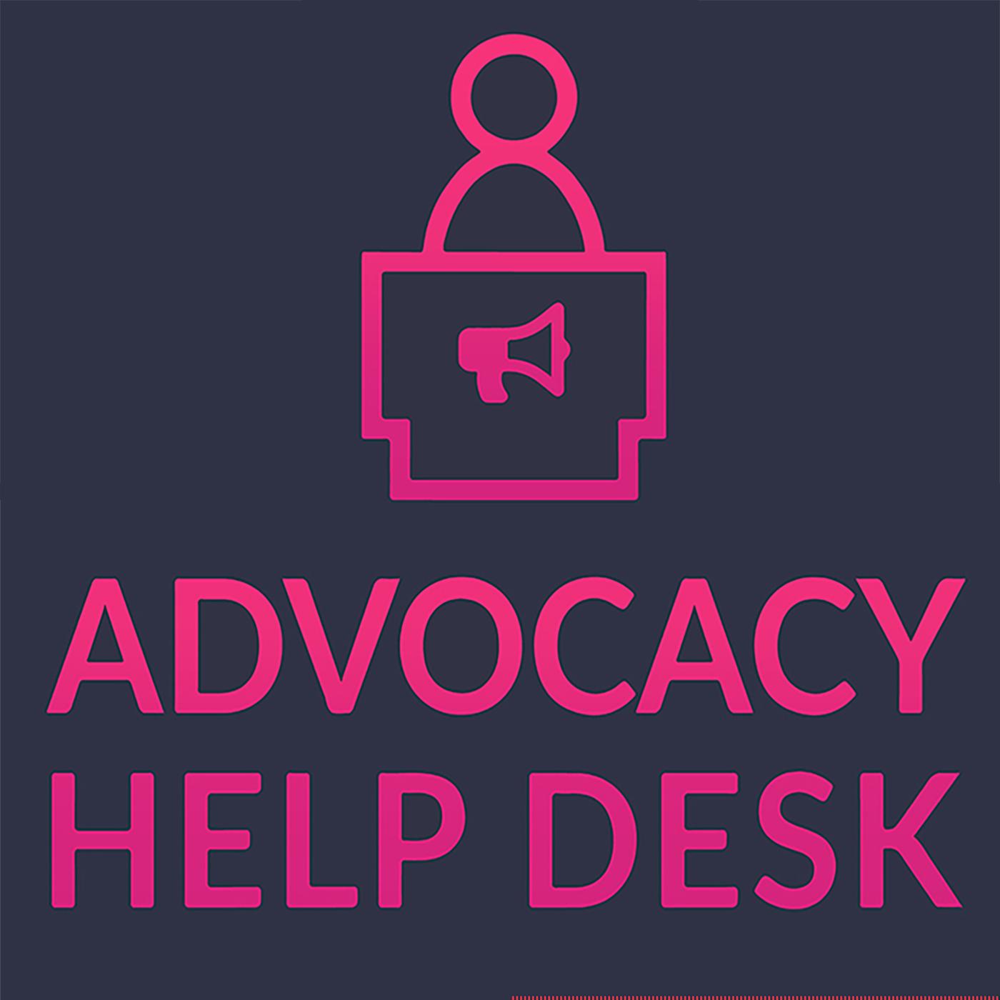 Advocacy Help Desk show art